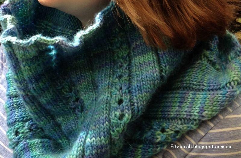 FitzBirch Crafts | cuello dos agujas | Pinterest | Tejer bufandas ...