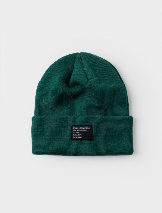 c9bc2a7bc36 Stussy - Watch Cap Beanie - Green Hats For Sale