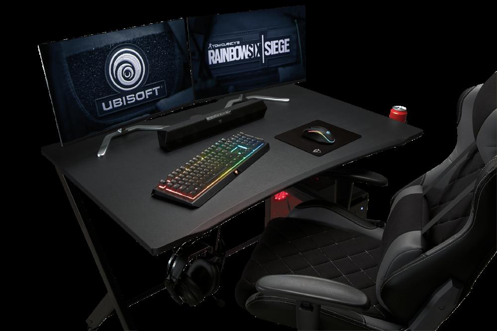 Scrivania Da Gaming.Scrivania Da Gioco Trust Gaming Gaming Gaming Desk