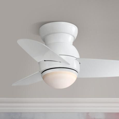 26 minka aire spacesaver white hugger ceiling fan t2593 lamps 26 minka aire spacesaver white hugger ceiling fan t2593 lamps plus aloadofball Image collections