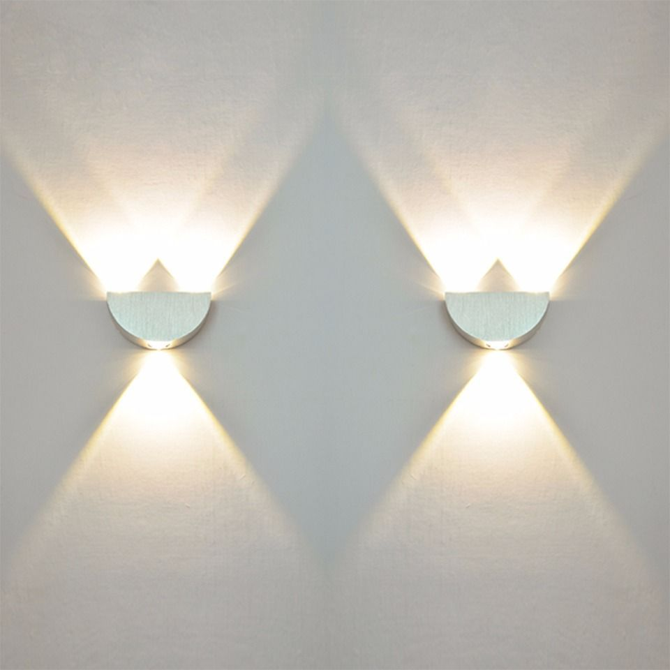 Yooe pcslots indoor led wall lamps w acv home decorate