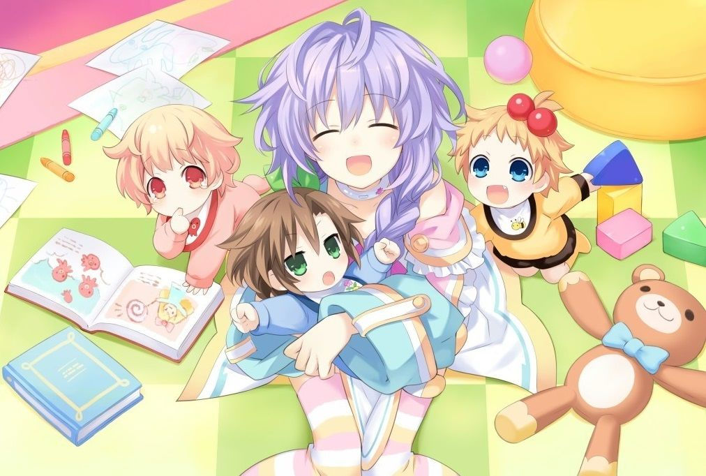These anime babies are really, really cute.