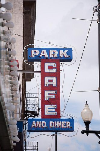For the absolute best diner food around.. The Park :)