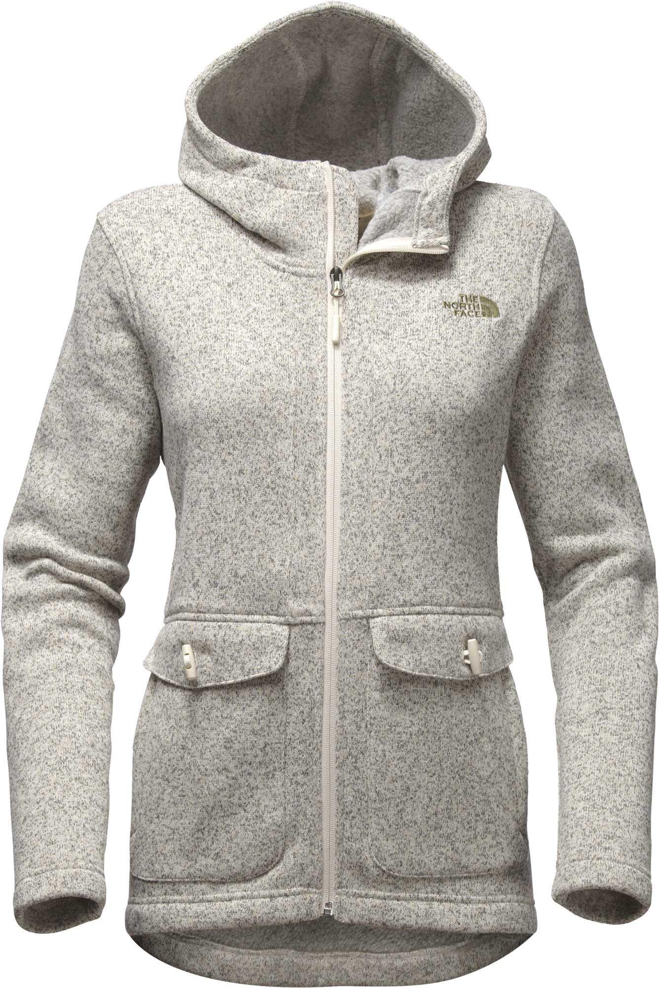 The North Face Women s Crescent Parka Sweater Fleece Jacket 6ce0c857a