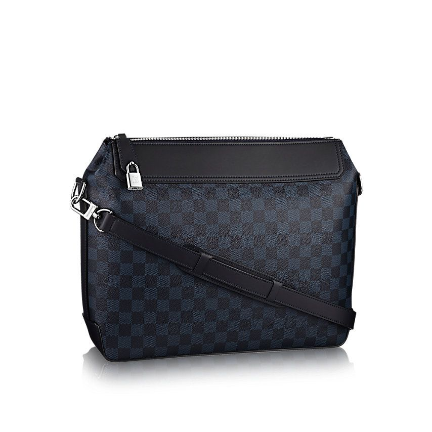 Мессенджер Greenwich Канва Damier Cobalt - Мужские сумки   LOUIS VUITTON 5bfa082f923