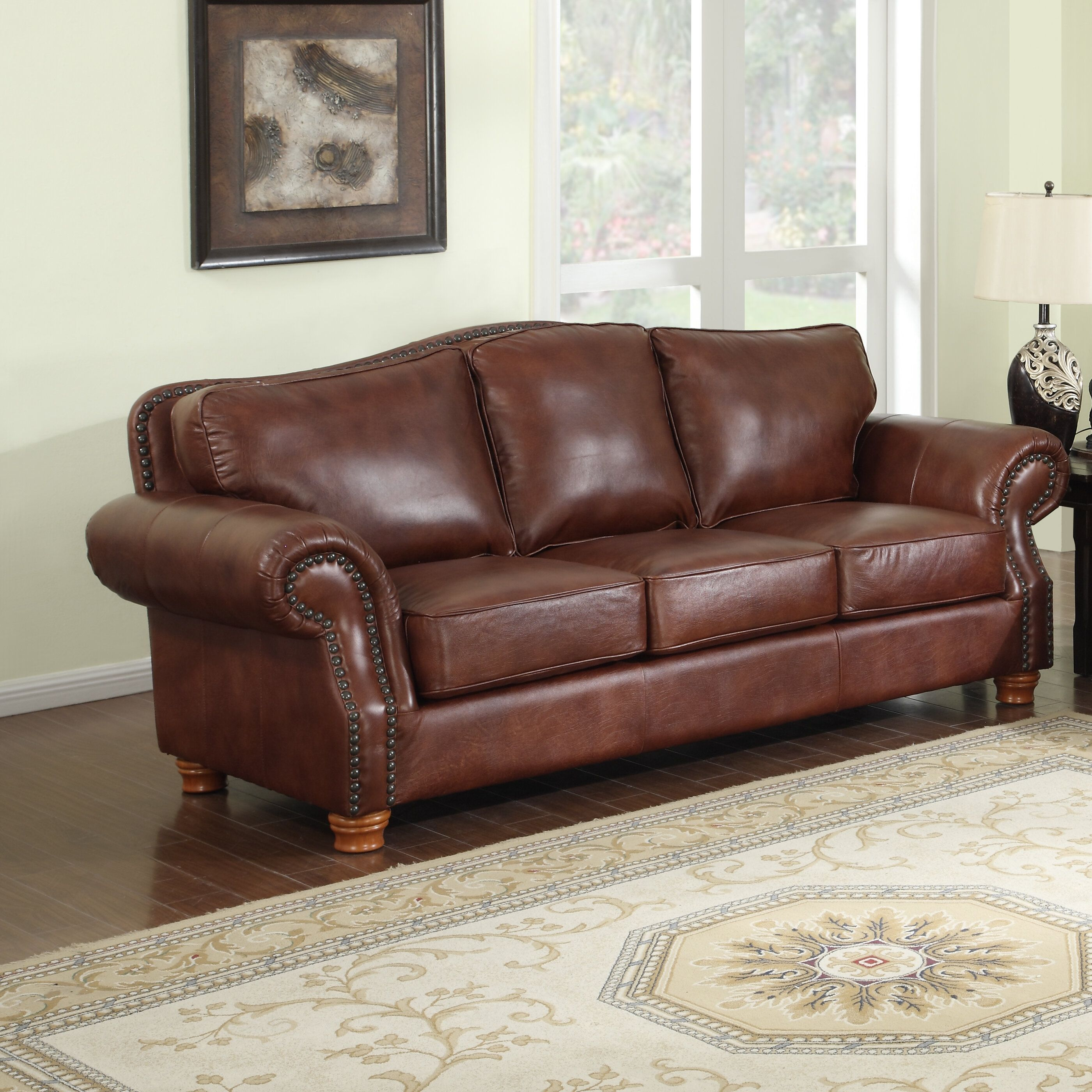 100 Percent Leather Sofa In 2020 Leather Sofa Brown Leather Sofa Top Grain Leather Sofa