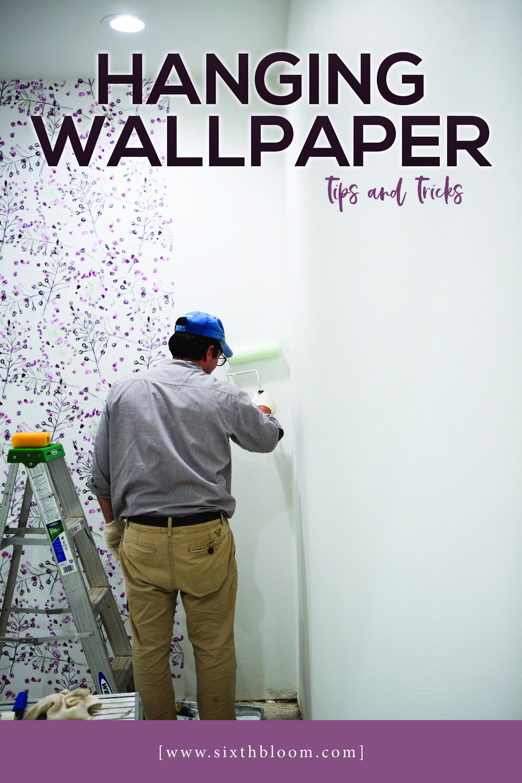 Hanging Wallpaper Tips How To Hang Wallpaper Wallpaper Tips And Tricks Ad Livetteswallpaper How To Hang Wallpaper Wallpapering Tips Diy Wallpaper