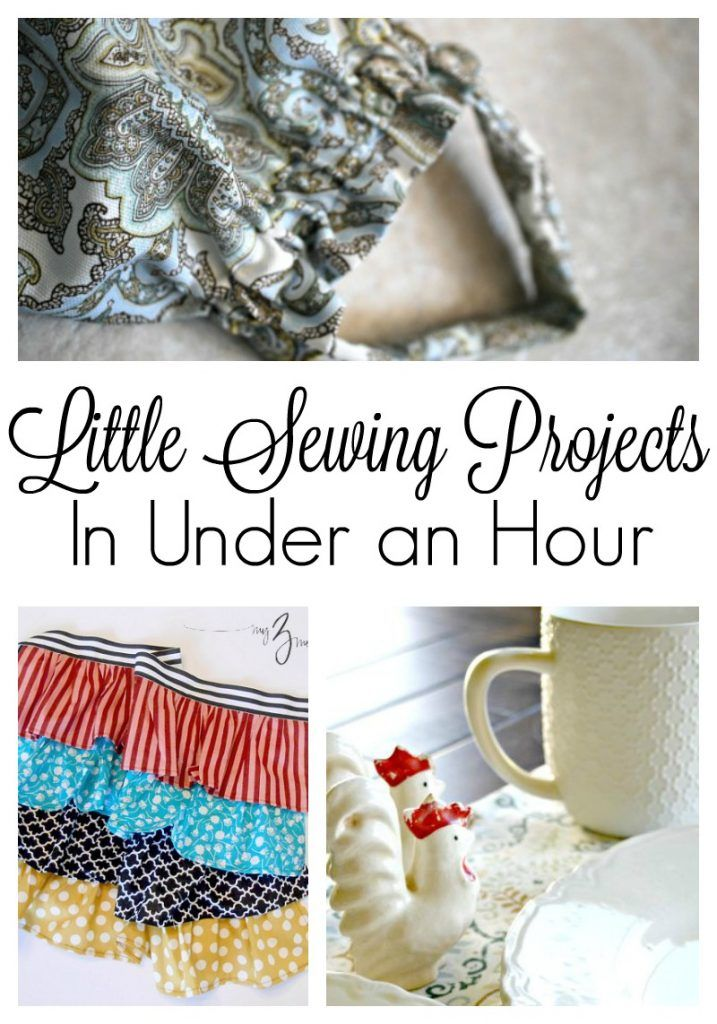 Little Sewing Projects You Can Do in Your Spare Time