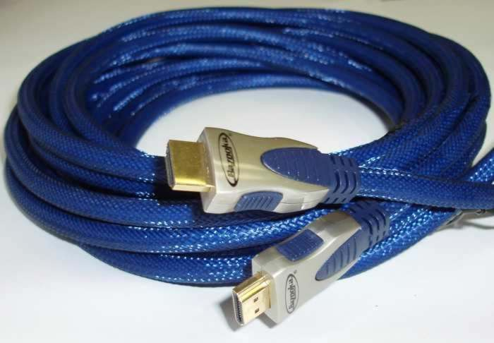 32 ft HDMI video interconnect cable for HDMI compatible devices like a TV & HD DVD Player
