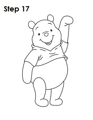 How to draw Winnie the Pooh  drawing tutorials  Pinterest