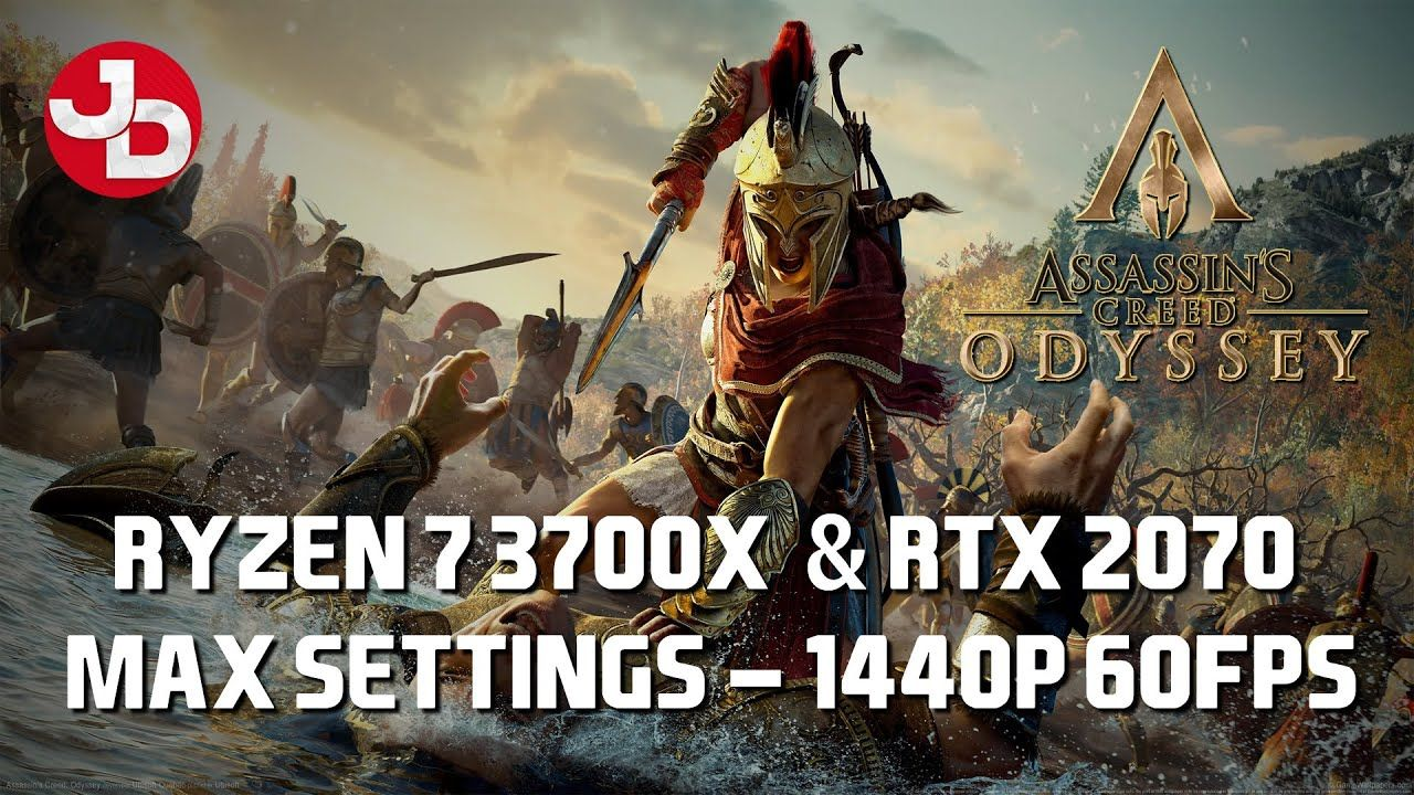 Assassin S Creed Odyssey Benchmark Test At Highest Settings 1440p