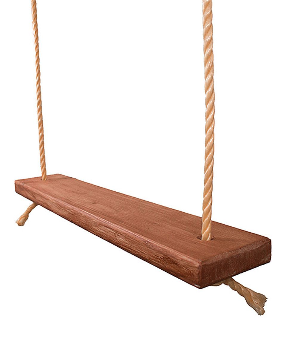 Look At This Zulilyfind Wood Board Swing Set By Frontier