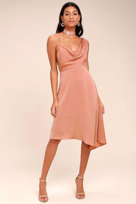 39+ Pink midi dress information