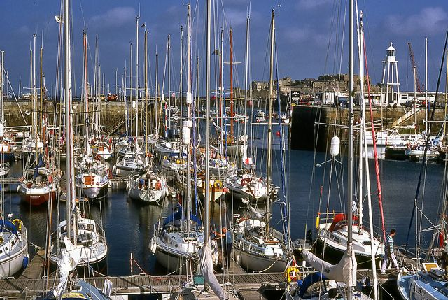 Masts: St Peter Port, Guernsey by Peter4153, via Flickr