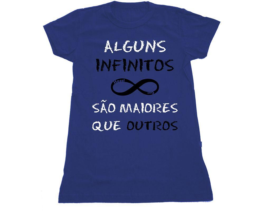 "Camiseta ""Infinitos"" da www.mypoptee.com.br #ACulpaeDasEstrelas #ACEDE"
