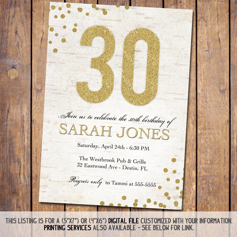 th birthday invitations uk