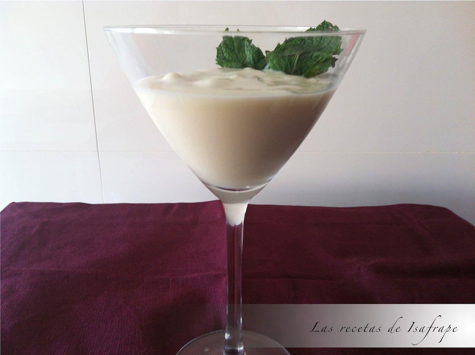 Recetas de Isabel: Mousse de coco