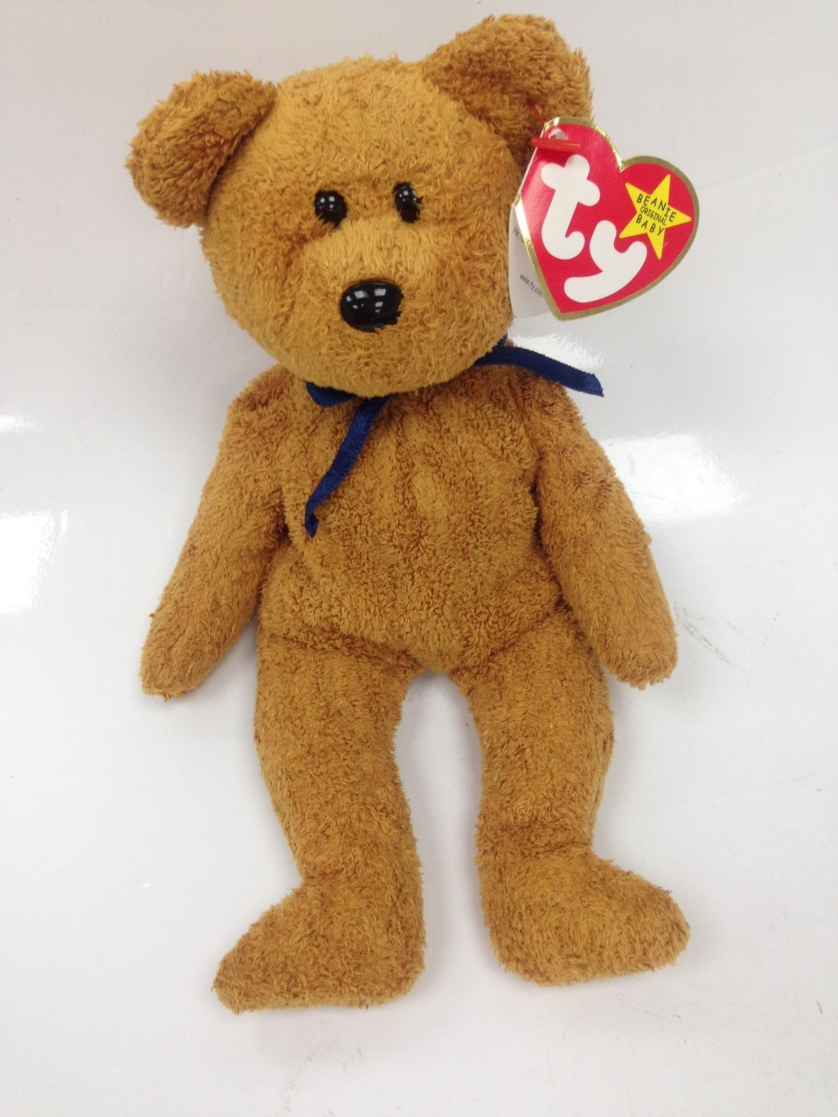 da76a2aeba7 TY Beanie Baby Fuzz with Rare date errors on Tag and Hologram label 883