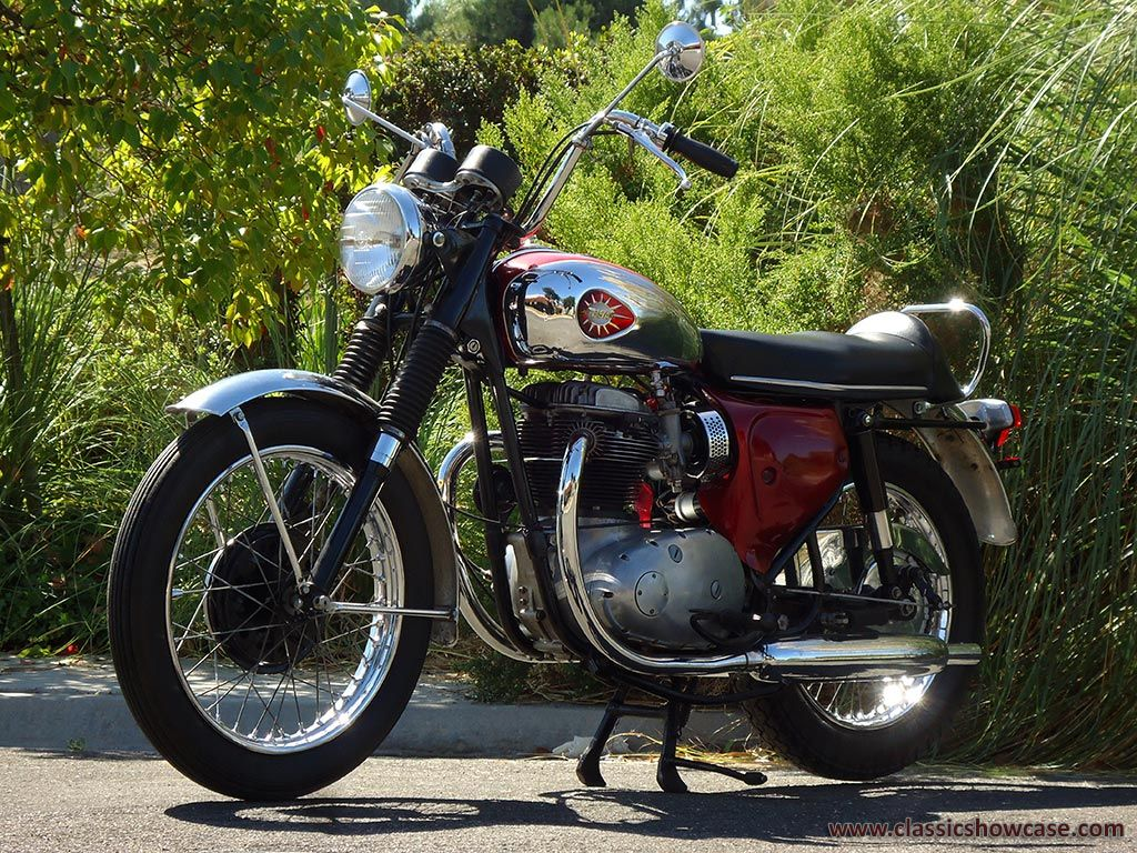 1967 Bsa Motorcycles A65 Lightning By Classic Showcase Bsa Motorcycle Motorcycle Cool Bikes