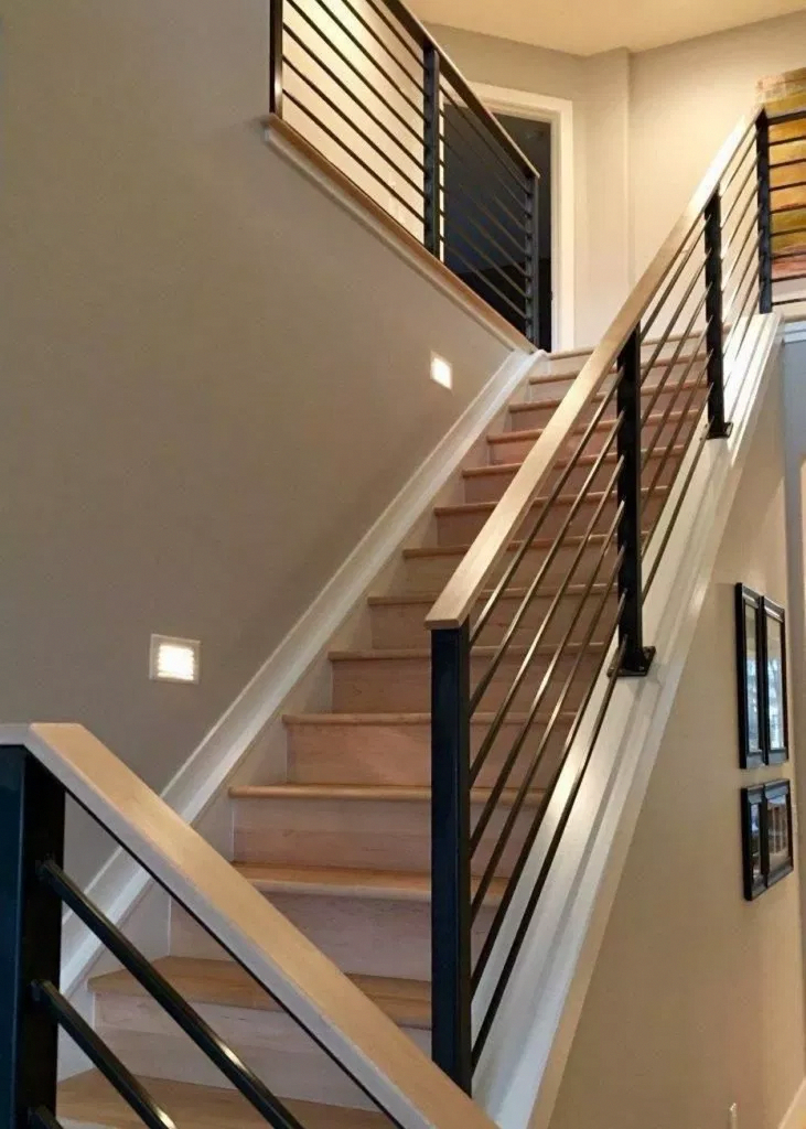 This Excellent Photo Is Certainly An Inspirational And Top Notch Idea Staircasediy In 2020 Modern Stairs Farmhouse Staircase Staircase Design