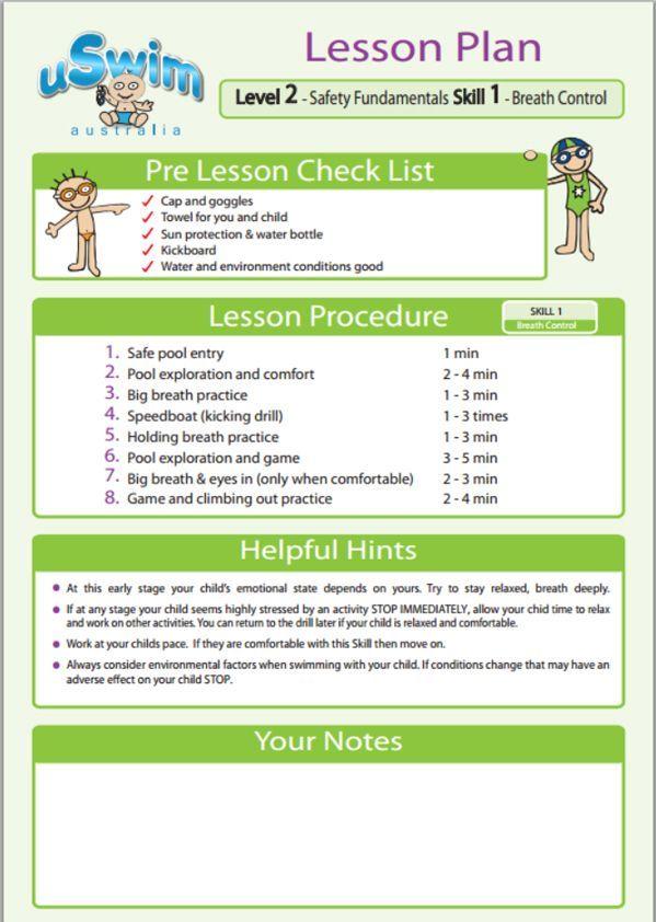 Level 2 Uswim Swimming Lessons For Kids Swimming Lesson Plans Swim Lessons