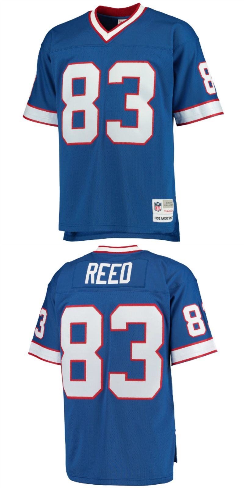 promo code 0a660 9a543 Andre Reed Buffalo Bills Mitchell & Ness Retired Player ...