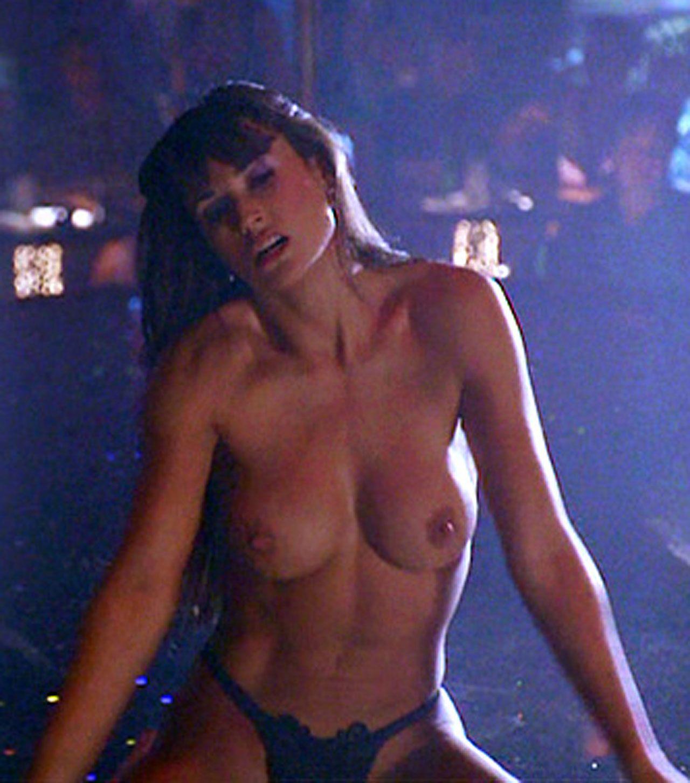 Video nude moore demi striptease