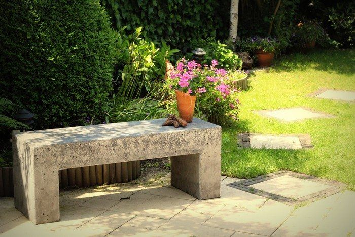 How to build a concrete garden bench is part of Concrete garden Art - Comments comments