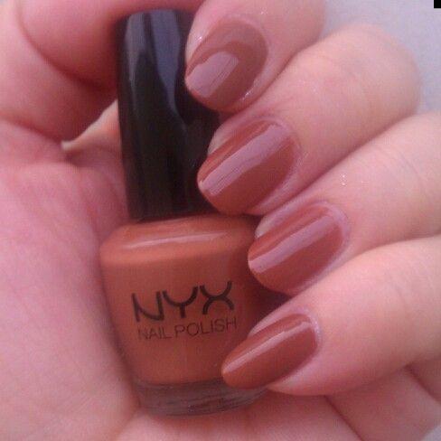 Dark Beige by NYX  #nyxcosmetics #nyxnailpolish #nails #nailpolishswatch #swatch #nyx