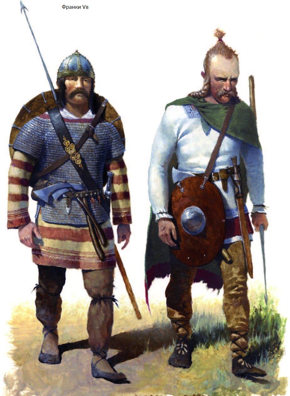 воины франки картинки для