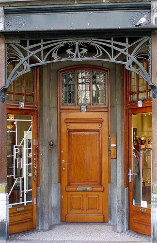 The Hague Jugendstil Doors Gates And Portal