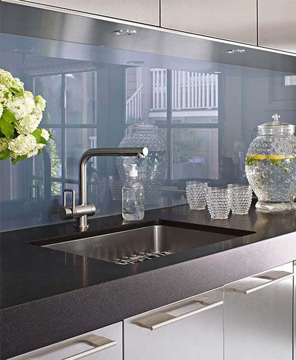 Decorating your kitchen in the best way kitchen for Glasplatte ruckwand kuche