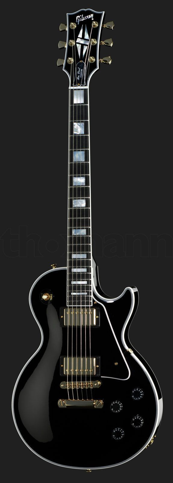 Gibson Les Paul Custom Eb Gh Wallpapers Pinterest Guitares