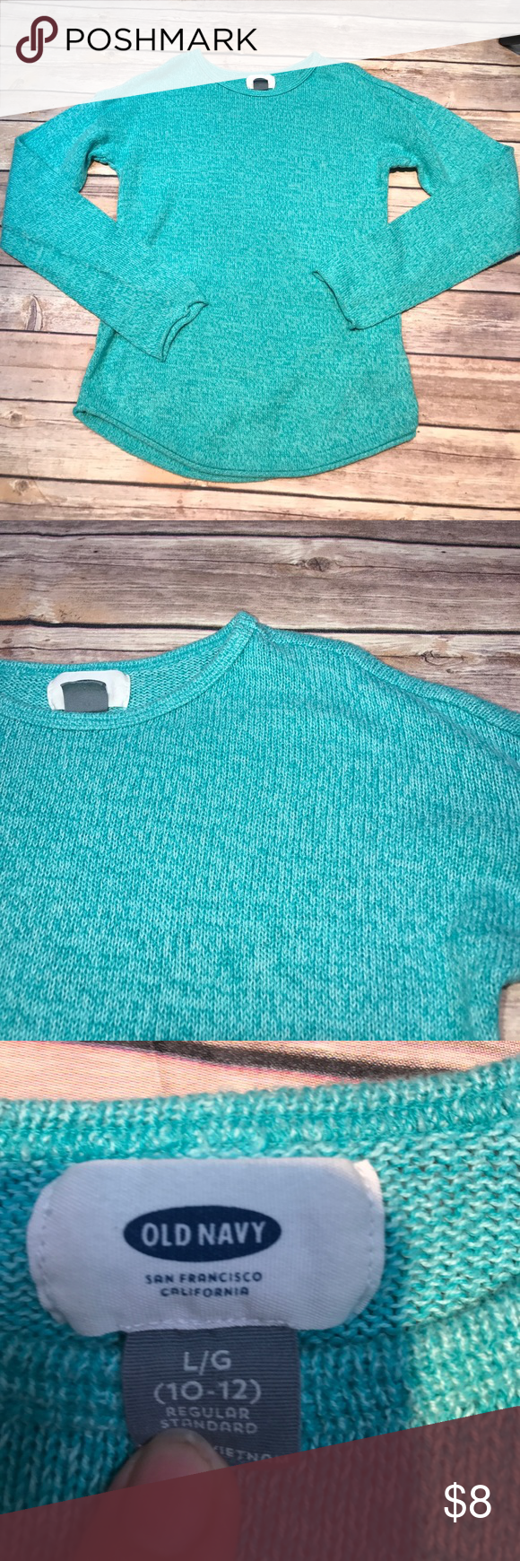 💜Size L (10/12) Old Navy sweater