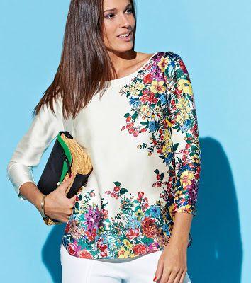 Blusas de moda ¡17 Increíbles modelos Juveniles! in 2019 ...