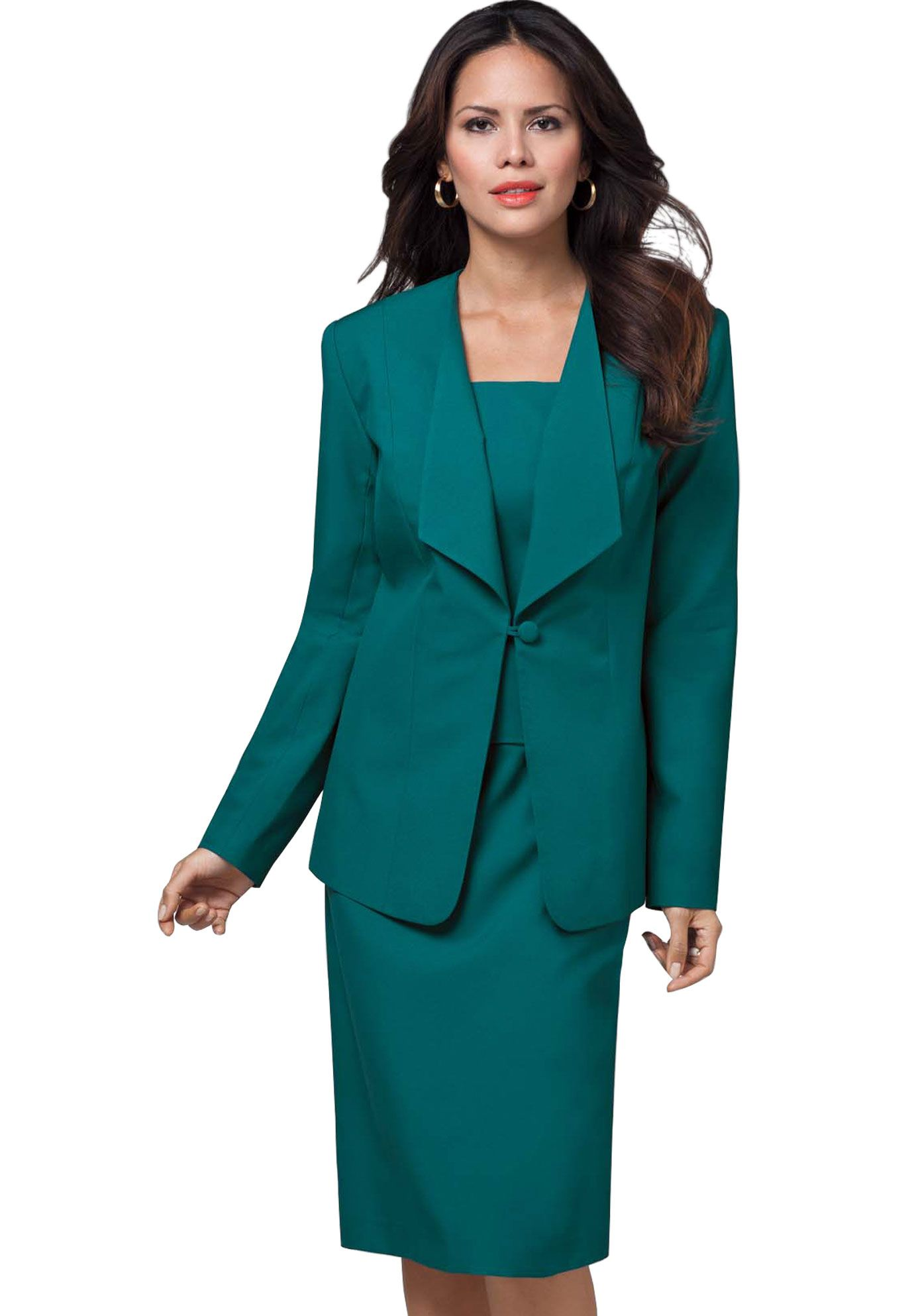 b03a4f65e9f Princess Seams Blazer Skirt Suit
