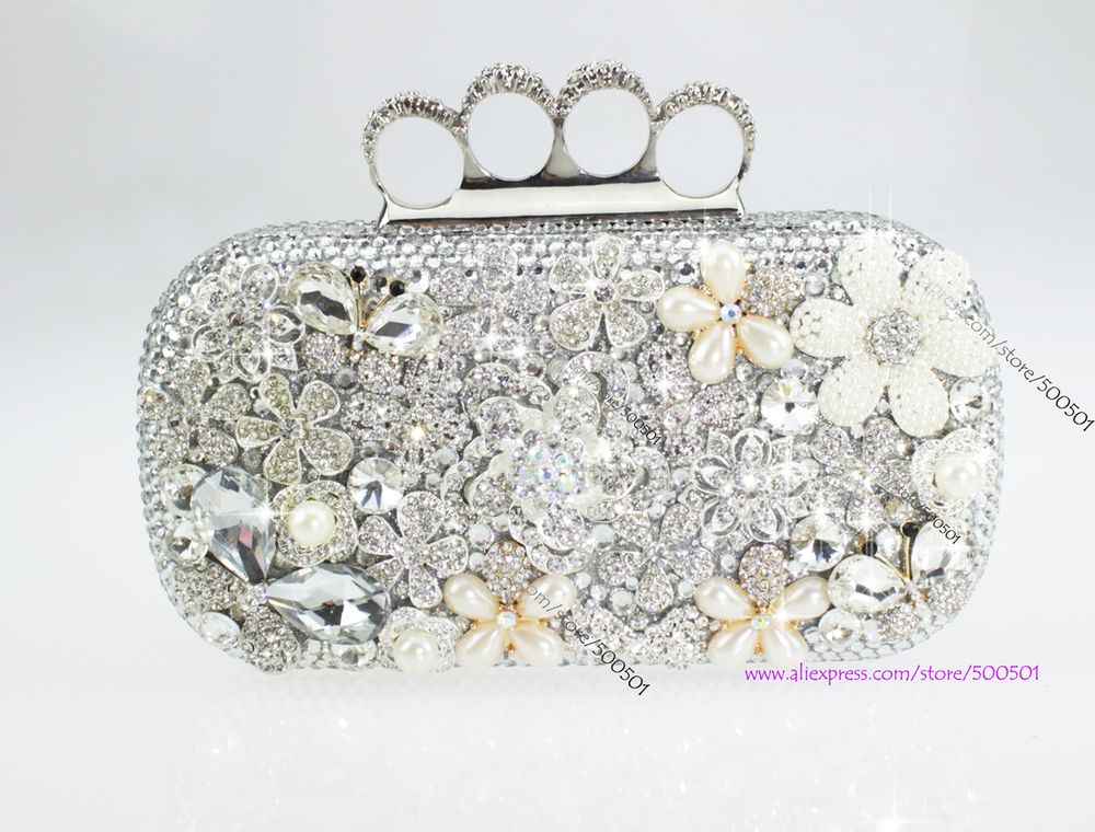Rhinestone evening bags Evening Purse Evening Bag Crystal Evening ...