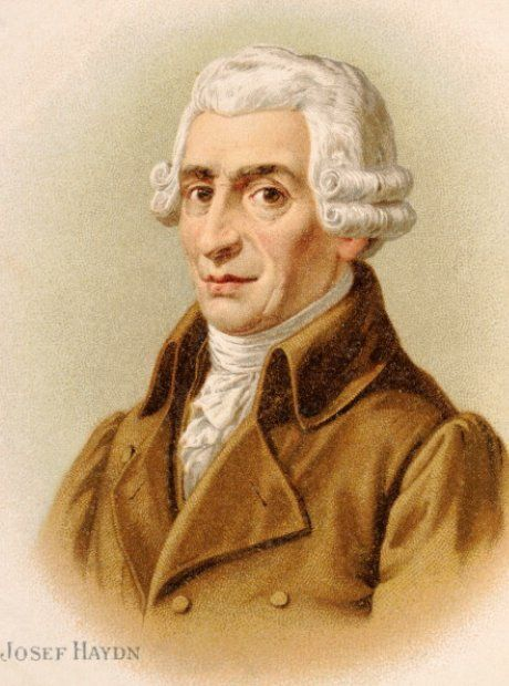 Joseph Haydn Lithograph Picture Haydn Famous Composers E Flat Major