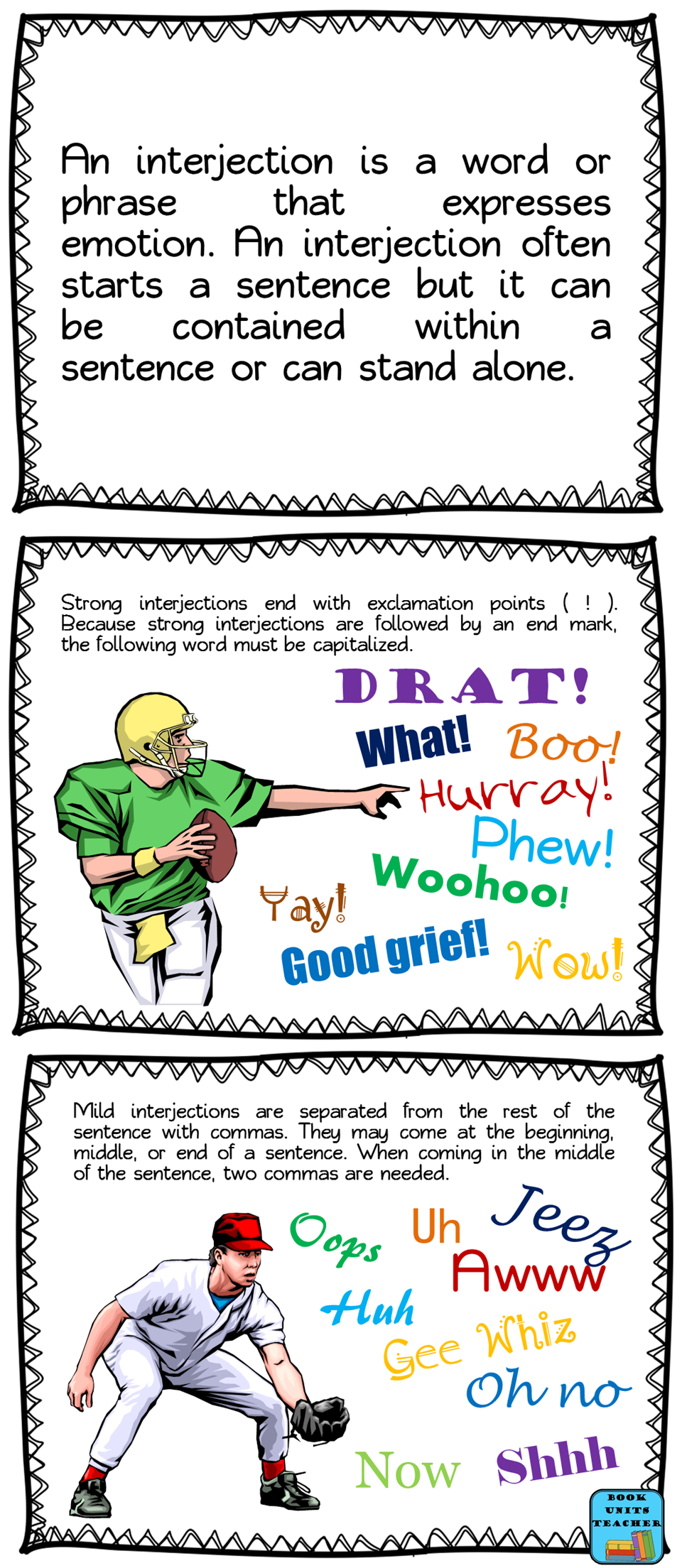 worksheet Interjection Worksheet 78 best images about interjections on pinterest schoolhouse rock language and student