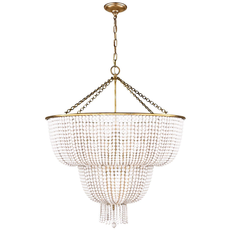 Visual comfort arn 5104hab wg aerin jacqueline two tier chandelier visual comfort arn 5104hab wg aerin jacqueline two tier chandelier in hand rubbed arubaitofo Choice Image