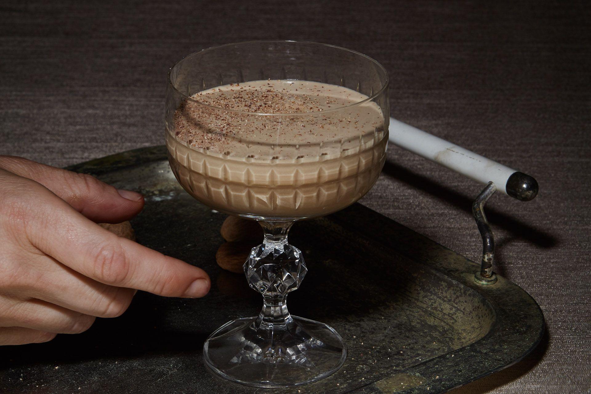 Rum Alexander Cocktail Recipe Rum Brandy Alexander Cocktail