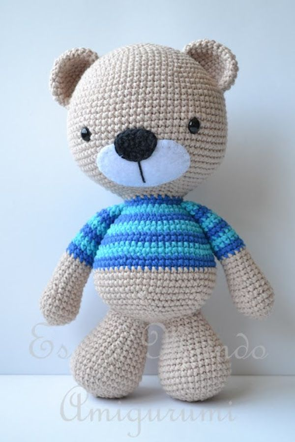9 patrones gratis para hacer muñecos amigurumi   Pinterest ...