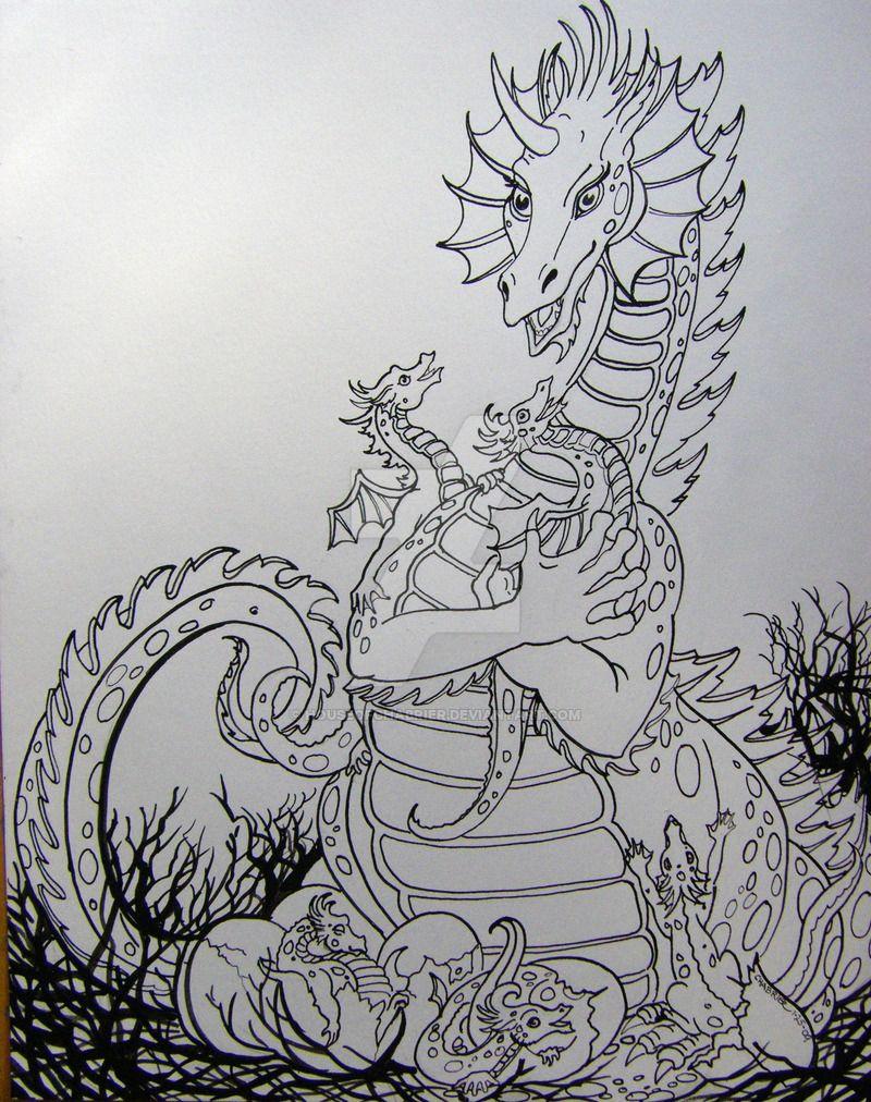 Dragon Delight by HouseofChabrier.deviantart.com on @DeviantArt