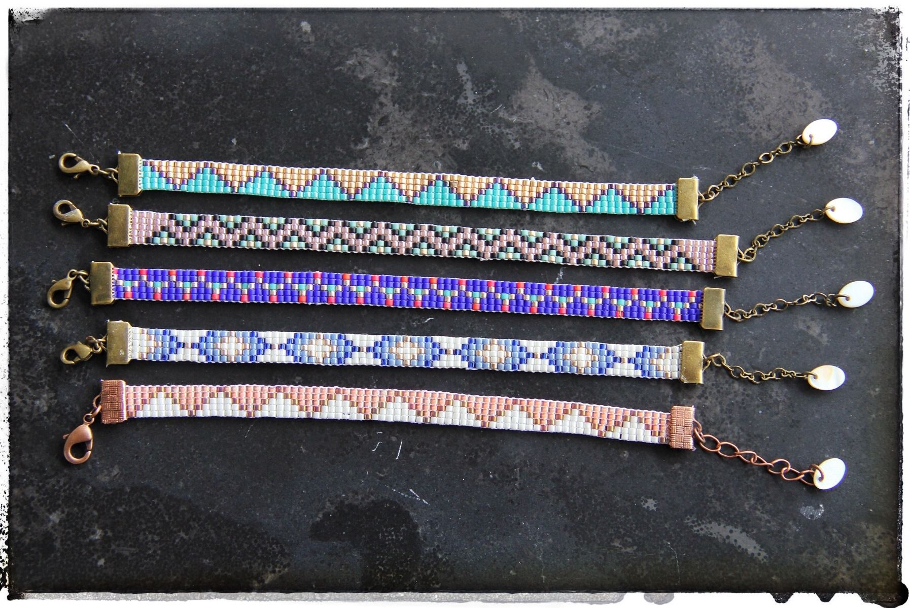 bracelet perle modele