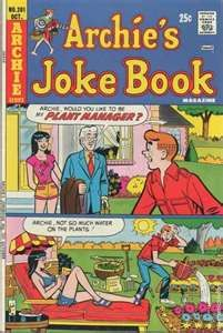 """Archie's (and Betty and Veronica and...) Comics - my mother worked at the drugstore - they had a soda fountain and comic books I could read """"for free.""""  Heaven after school til she got off work."""