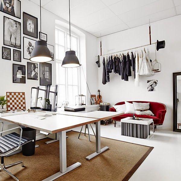 despachos, estudios, diseño, oficinas, trabajo, lugar, arquitectura ...