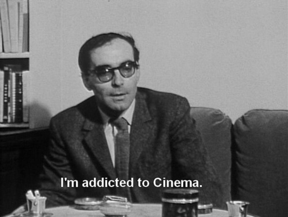 - Devil in Suit - — nouveau-realisme: Jean-Luc Godard