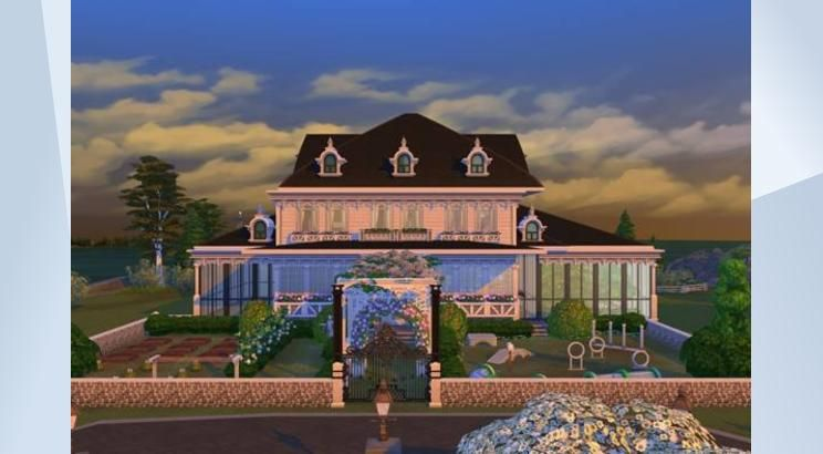 Check Out This Lot In The Sims 4 Gallery With Gorgeous Indoor And Outdoor Gardens An Indoor Swimming Pool And An Outdoor Indoor Swimming Pools Sims Sims 4