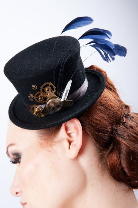 bibi steampunk Made in France Fait main français