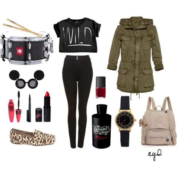 Let's Go Drum [wild] Drum, created by nayinda on Polyvore